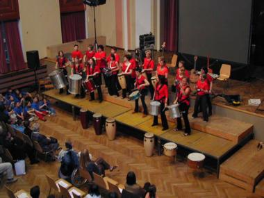 Percussion Gruppe Salsador
